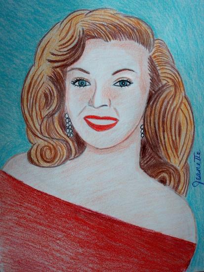 Marilyn Monroe par Jeanette